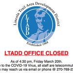 LTADD Office Closed
