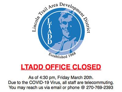 LTADD Office Closed